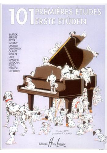 partition de piano premières études